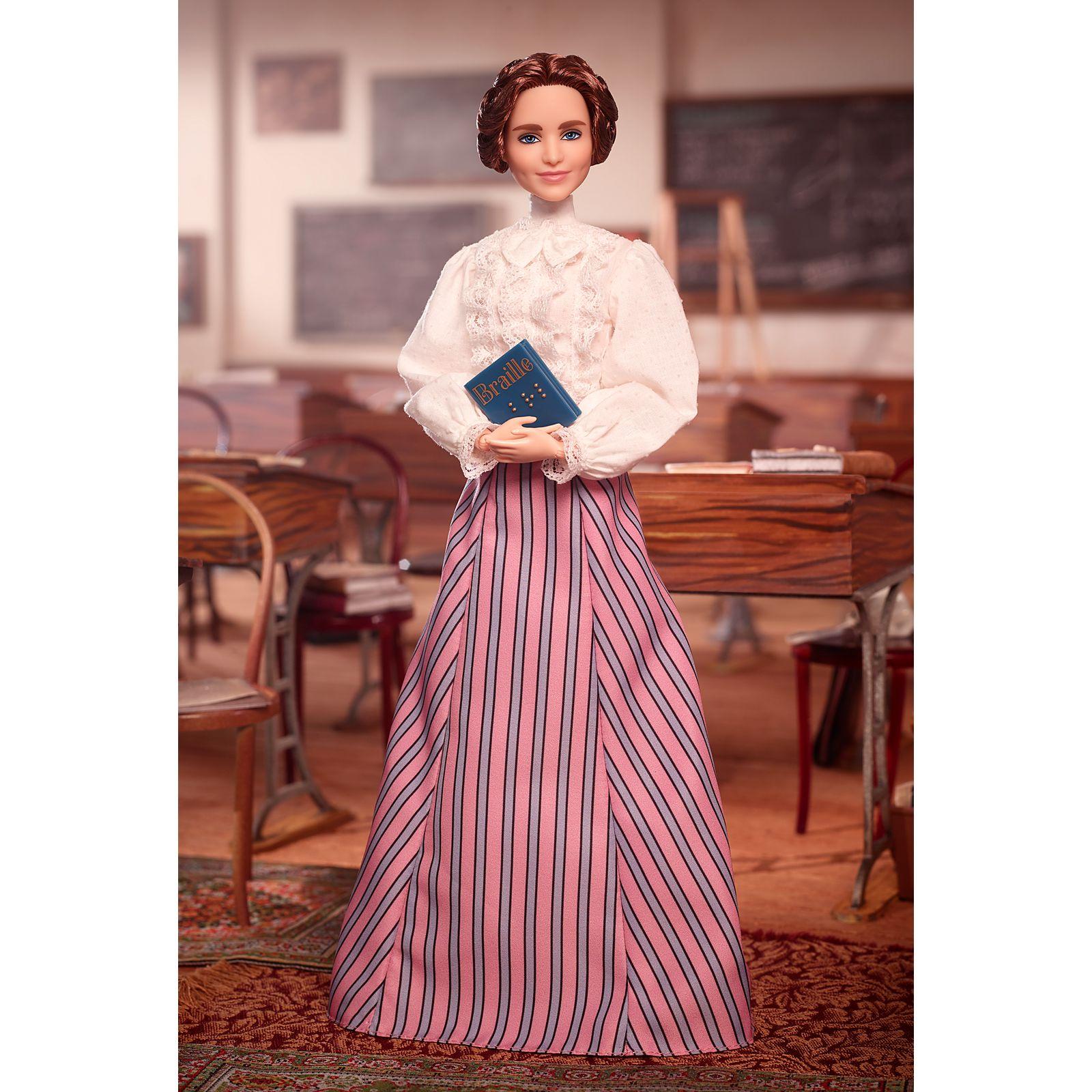 Helen Kellerről alkotott Barbie