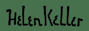 Helen Keller aláírása