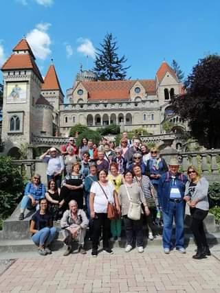 csoportkép Székesfehérvár Bori-vár